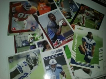 Of the 75 cards, a good third was rookies.