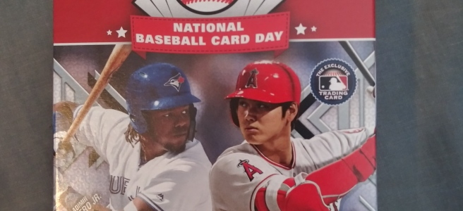 Random Review 2019 Topps Baseball Card Day Walmart Angry