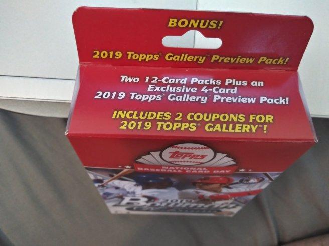 Random Review 2019 Topps Baseball Card Day Walmart Angry Card